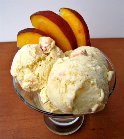 Happy Peach Ice Cream Day 2014 HD Wallpapers, Images, Wishes For Pinterest, Instagram