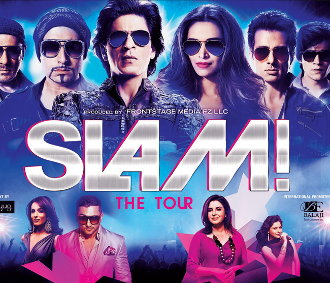 Watch The Official Promo Of SLAM! The Tour (2014)
