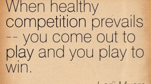 Question Yourself: Is Competition Fatal?