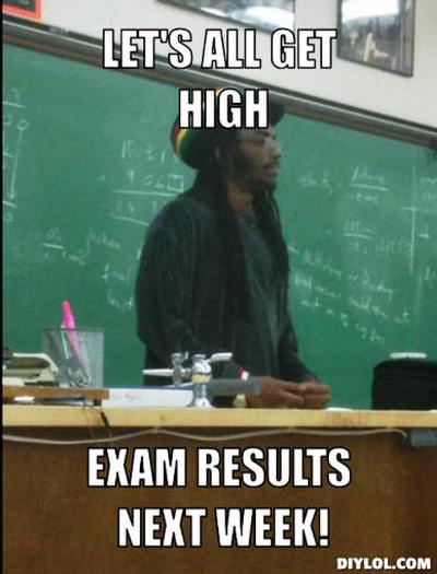exam results meme