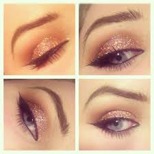 Glimmer and Shimmer: Glitter Eye Makeup Steps