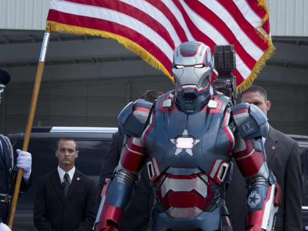 Iron Man suit or the US military!