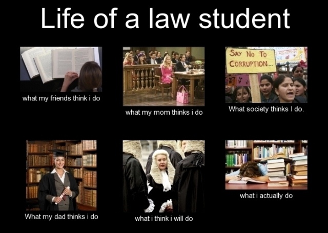 life of law student
