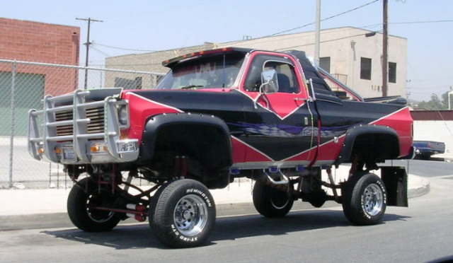 ugly truck day 1