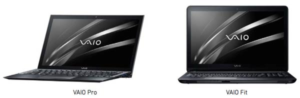 New VAIO's But Not From Sony Corp.