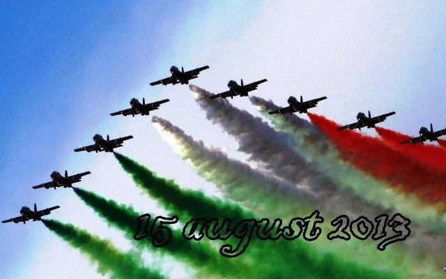 10 Independence Day Celebrations HD Images 2014, New Delhi, India