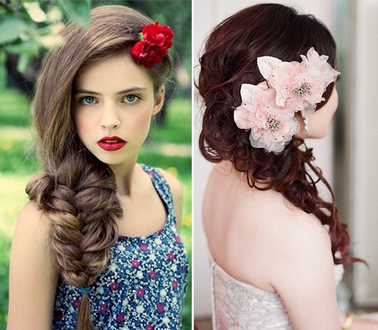 Most Happening Hairstyle You Gotta Try – Floral Fun Sweep!