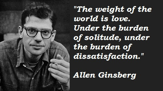 7 'Allen Ginsberg' Quotes (Author of Howl and Other Poems)