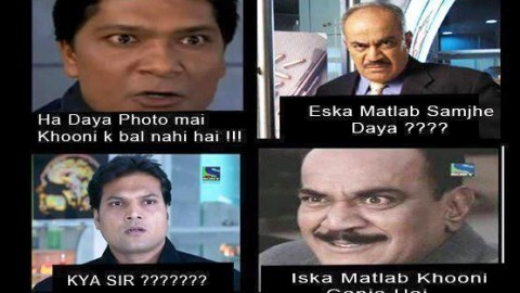 10 Funny CID Jokes, SMS, Shayari, Facebook Status, WhatsApp Messages in Hindi