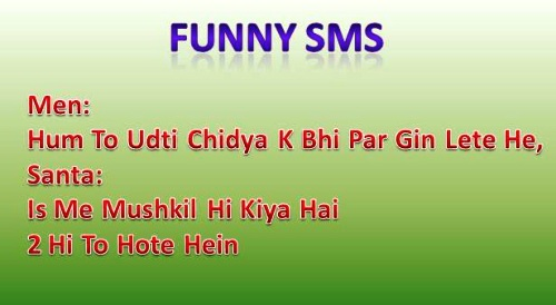 Latest Funny Hindi, English SMS | Funny Jokes SMS for friends