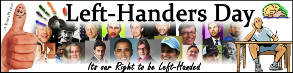 International Lefthanders Day Photos, Images, Wallpapers 2014