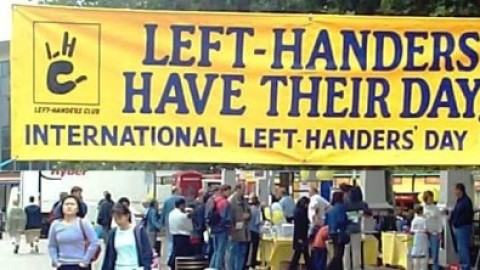International Lefthanders Day HD Images, Wallpapers For Whatsapp, Facebook