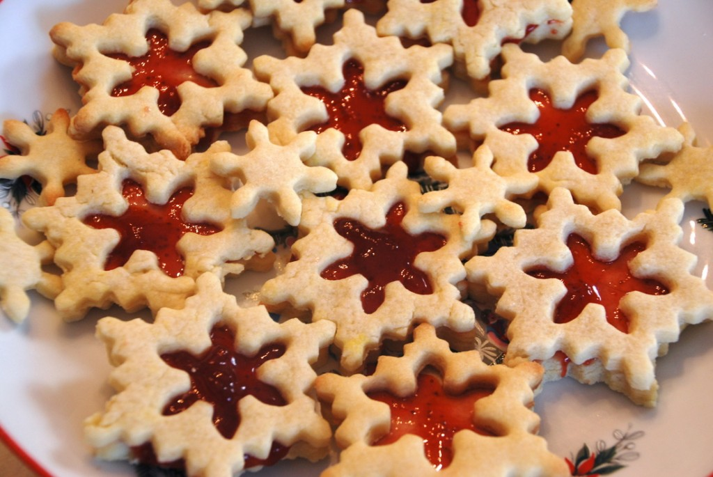 Jam-filled Butter Biscuits