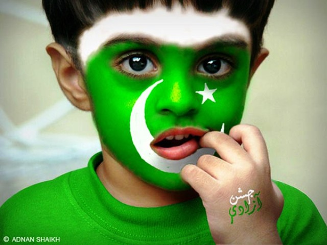 2014 Pakistan's Independence Day Facebook Greetings, WhatsApp HD Images, Wallpapers