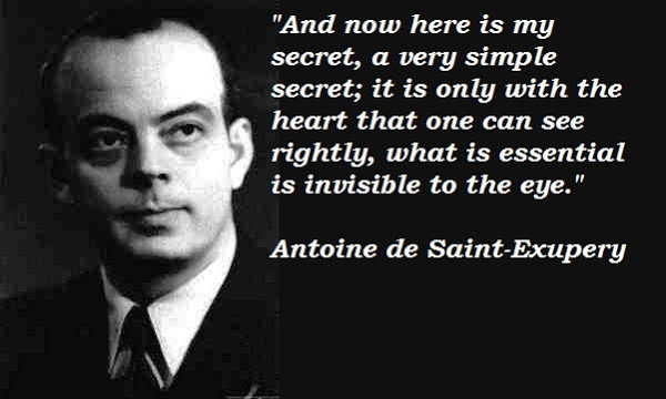 Antoine de Saint-Exupery :Top 10 Quotes, Quotations