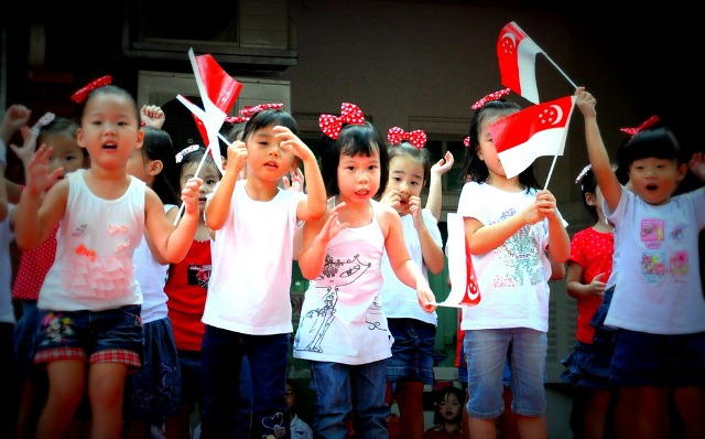 2014 Singapore National Day Facebook Greetings, WhatsApp HD Images, Wallpapers