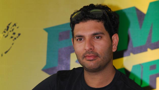 Watch Cricketer Yuvraj Singh's  ALS Ice Bucket Challenge