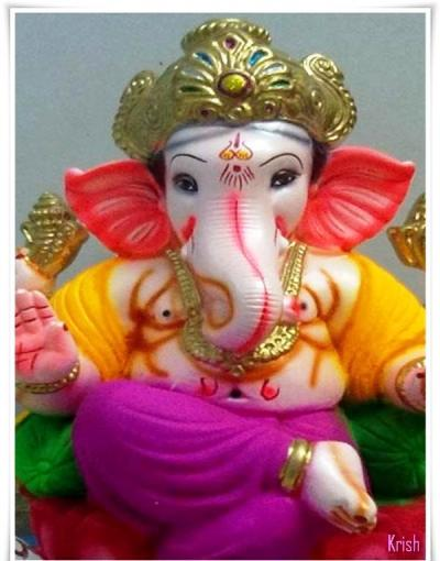 Top 3 Awesome Happy Ganesha Chaturthi / Vinayaka Chaturthi 2014 Images, Pictures, Photos, Wallpapers