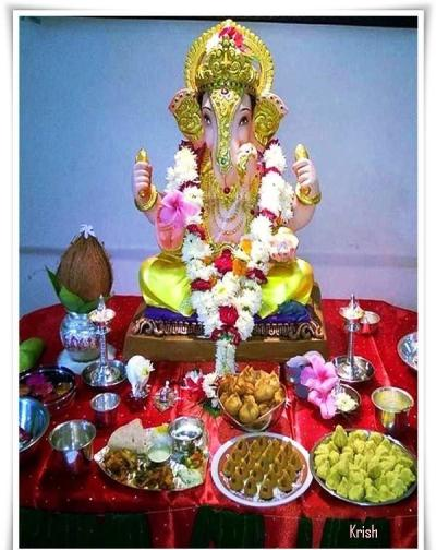 Happy Ganesh Festival 2014 HD Images, Wallpapers For Whatsapp, Facebook