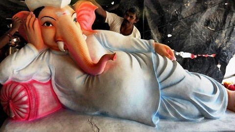 Happy Ganesh Festival 2014 HD Wallpapers, Images, Wishes For Pinterest, Instagram