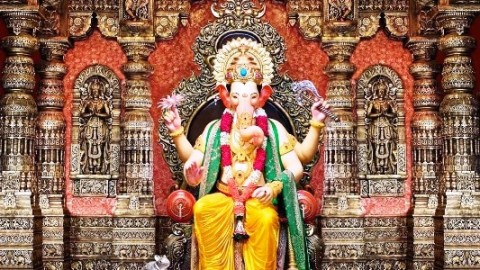 Happy Ganesh Jayanti 29 August 2014 HD Images, Greetings, Wallpapers Free Download