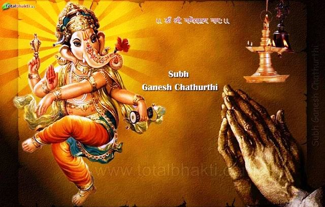 Happy Vinayaka Chaturthi 2014 HD Wallpapers, Images, Wishes For Pinterest, Instagram