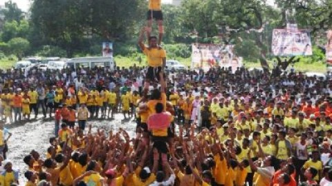 Dahi Handi Photos, Images, Wallpapers 2014 Free Download