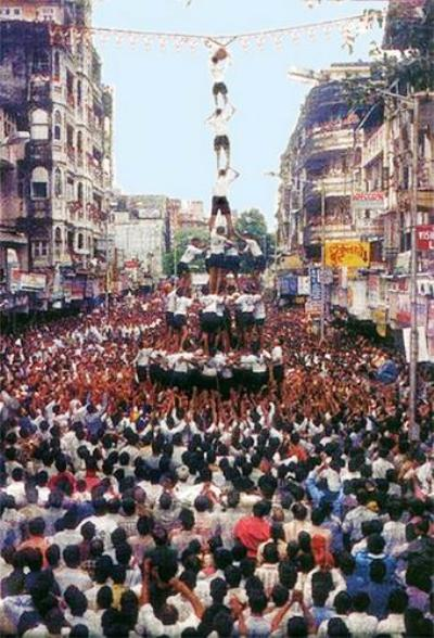 Dahi Handi 2014 Facebook Greetings, WhatsApp HD Images, Wallpapers