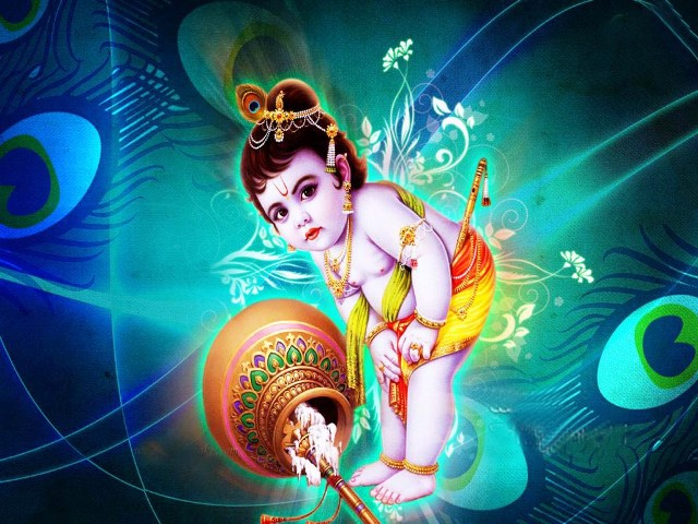 5241th Birth Anniversary of Lord Krishna HD Images, Wallpapers For Whatsapp, Facebook