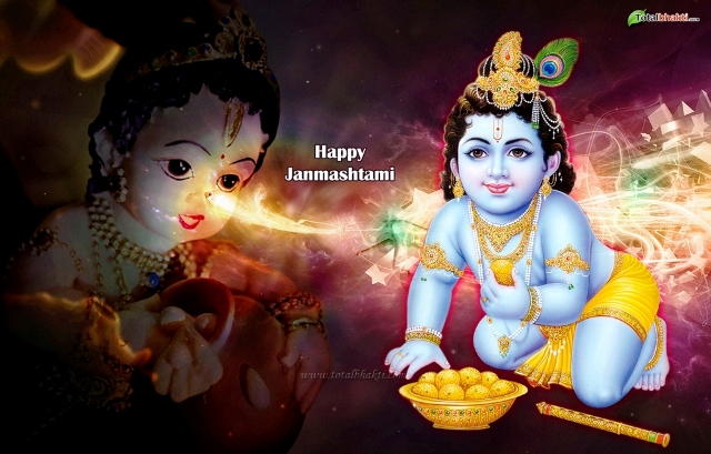 2014 Shri Krishna Janmashtami SMS, Wishes, Messages, Greetings In English