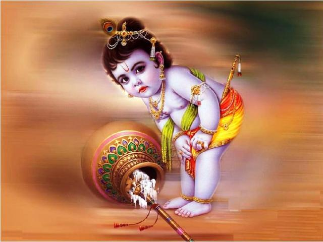 Top 3 Awesome Happy Janamashtami 17 August 2014 Images, Pictures, Photos, Wallpapers