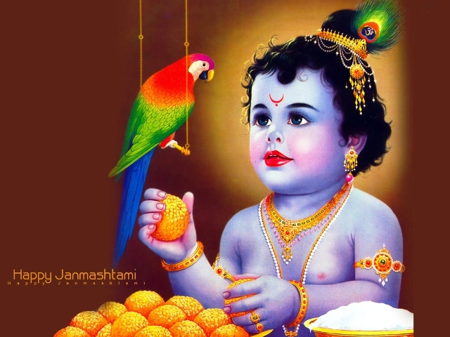 Top 10 Amazingly Beautiful Happy Ashtami Rohini 2014 Images, Wallpapers, Photos, Pictures For Facebook And WhatsApp