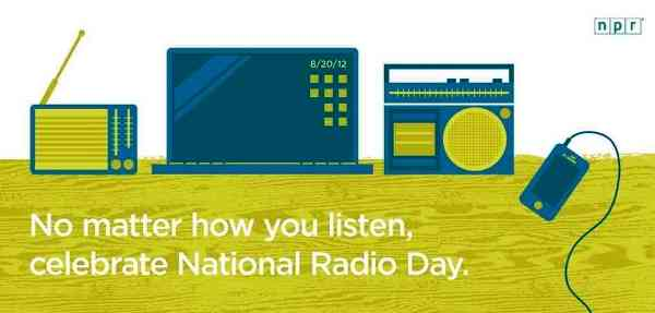 Happy Radio Day 2014 HD Images, Greetings, Wallpapers Free Download