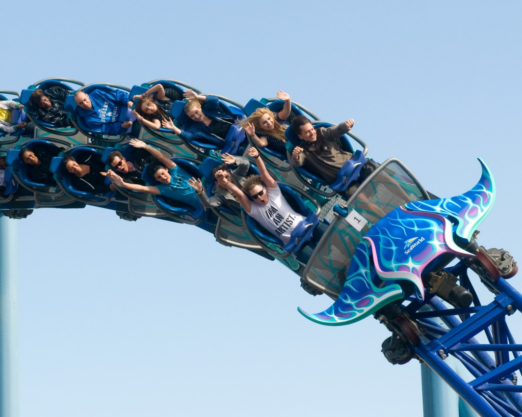 The 12 Most World's Scariest Roller Coaster Rides