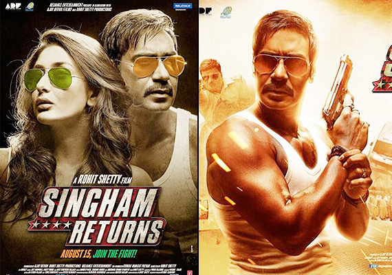 Singham Returns 7th Seventh Day Collection – Thursday 21 August 2014