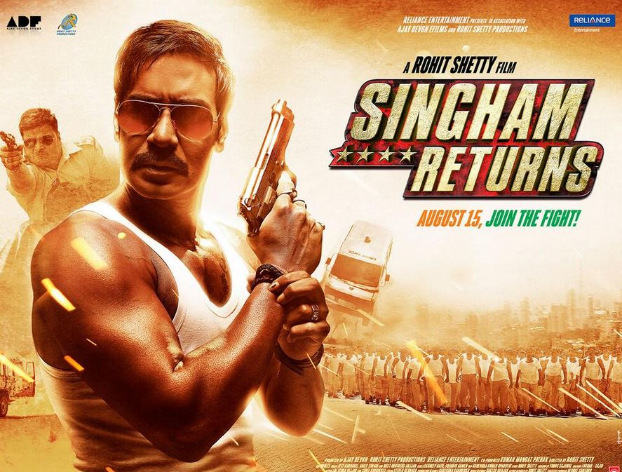 Singham Returns 6th Sixth Day Collection - Wednesday 20 August 2014