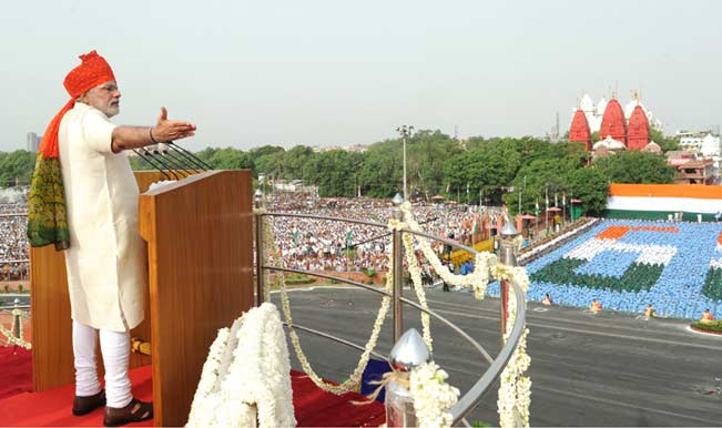Watch PM Narendra Modi's Independence Day 2014 Speech at Red Fort