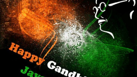Happy Gandhi Jayanti 2014 SMS, Wishes, Messages For WhatsApp, Facebook