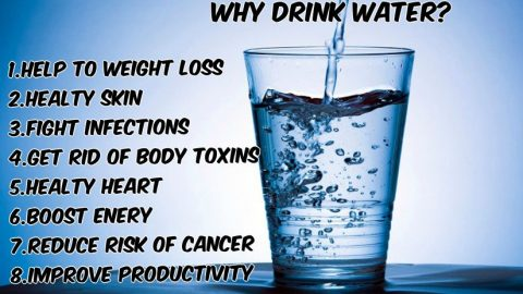 Water Benefits You Probably Didn't Know!
