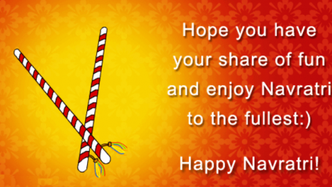 Happy Navratri 2014 HD Wallpapers, Images, Wishes For Pinterest, Instagram