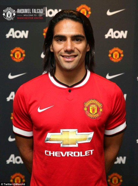 Radamel Falcao – Manchester United