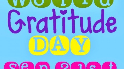 20 Amazingly Inspirational 'World Gratitude Day' 21st September 2014 Images, Quotes, Wallpapers