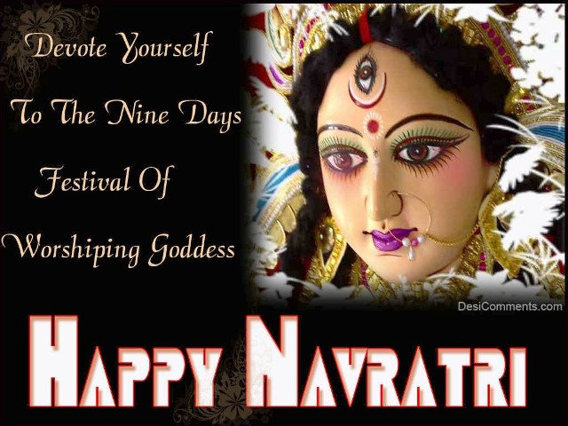 2014 Navratri Ghatasthapana SMS, Wishes, Messages, Greetings In Hindi