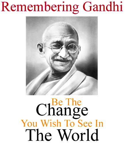 Happy 2nd October 2014 Gandhi Jayanti FREE SMS, Wishes, Text Messages For Pinterest, Instagram