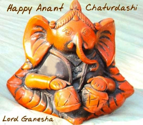 2014 Anant Chaturdashi / Ganpati Visarjan HD Images, Wallpapers For Whatsapp, Facebook