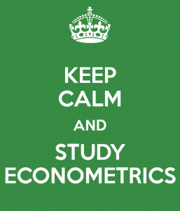 keep-calm-and-study-econometrics