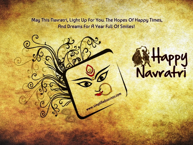 Happy Navaratri / Sharad Navratri 2014 HD Images, Wallpapers For Whatsapp, Facebook