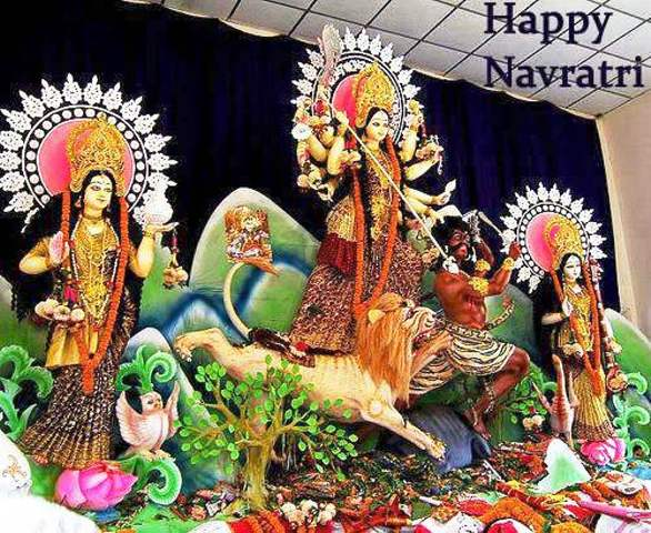 Latest Durga Puja SMS, Dussehra SMS, Navratri Day SMS 2014 for Facebook, WhatsApp