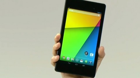 Google announces a quad-core, 1080p Nexus 7