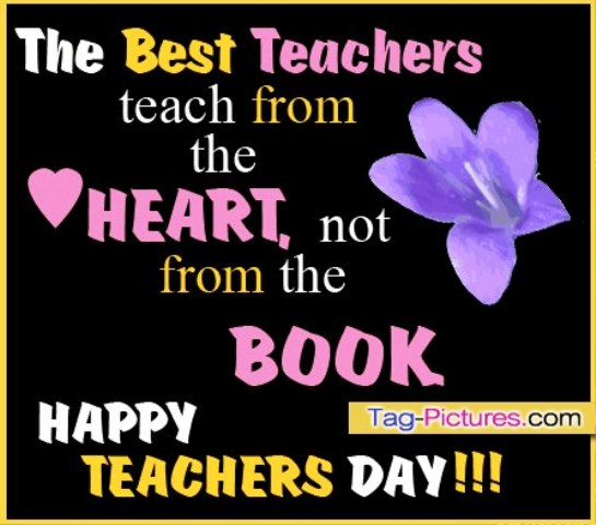 Teacher's Day 2014 SMS, Shayari, Quotes, Status, Messages, Updates for Facebook in English